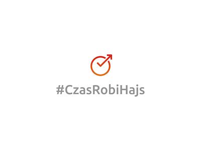 #CzasRobiHajs minimalist minimal symbol logo financial market increase arrow check clock finance forex money time