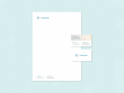 CallSecured Stationery paper letterhead business cards business card stationery