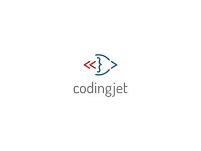 coding jet minimalist minimal symbol logo coding signs sings coding javascript language programming code plane jet