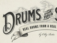 Drums For Your Songs Logo