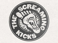 The Screaming Kicks Band Logo