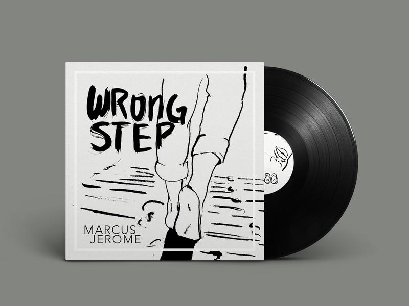 Wrong Step musician track art album art design illustration