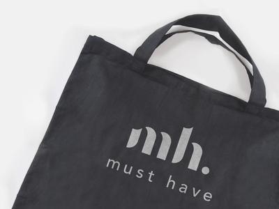 Must Have - logo website digital apparel logo interaction animation fashion design typography letter monogram mark logo branding minimal