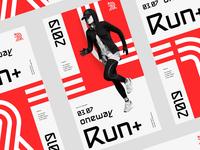 RunPlus - event posters