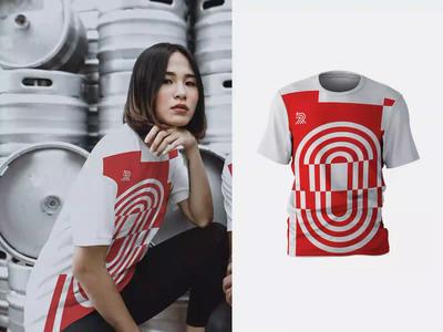 RunPlus - T-Shirts app pattern design red team logos patterns pattern mockups animation minimal sport apparel t-shirts colourful fashion illustration logo design branding