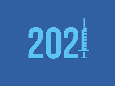 2021: Take the Vaccine geometric icons vaccine syringe 2021
