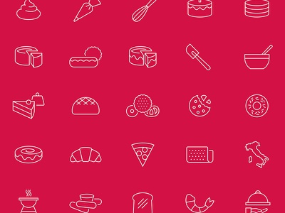 Rich's Icon Set geometric outline icons