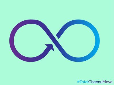 Infinite Loop colors materialdesign flatdesign ux visualdesign infinity loop infiniteloop