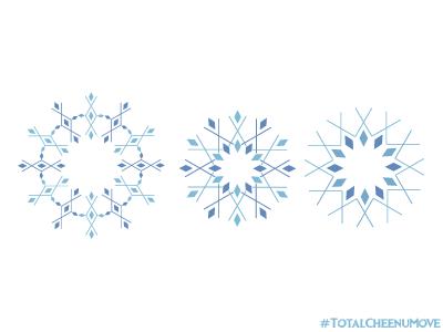 Snowflakes winter whitechristmas christmas ux visualdesign flatdesign happyholidays patterns snowflakes