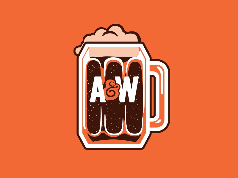 AW Root Beer Mug By Shannon Adams