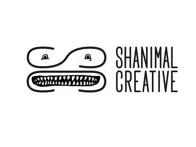 Shanimal Rebrand lettering digital illustration monster face shanimal creative branding logo