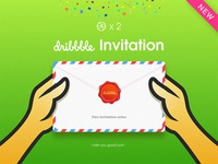 Dribbble Invitation 2