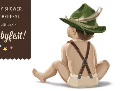 Baby Shower Invite illustration invitation baby baby shower