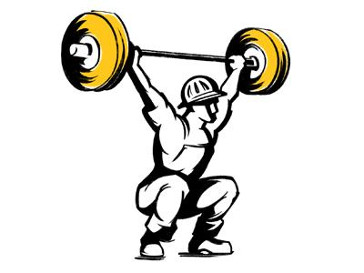 FittsBurgh weight lifter shirt design illustration apparel design t-shirt design