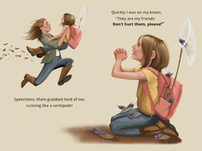 Children's Book Spread childrens book illustration