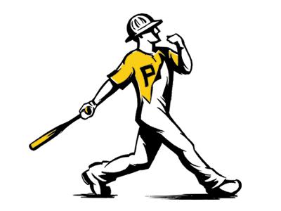 Fittsburgh Baseball shirt design t-shirt design pittsburgh illustration apparel design