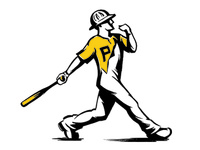 Fittsburgh Baseball shirt design