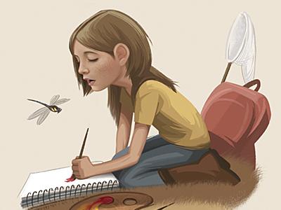 Children's Book Illustration illustration childrens book