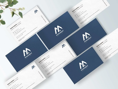 Monument Business Cards Design