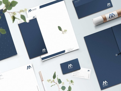 Monument Business Stationary Design