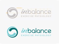 In Balance Exercise Physiology Logo Design