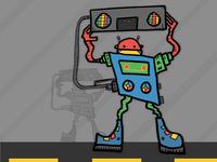 Baxter the Boombox Robot