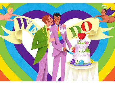 "LGBTQ say ""We Do!"" australia wedding rights queer lesbian gay"