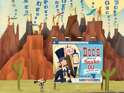 Dr Doc's Snake Oil Social Media Disaster lawyer legal analytica cambridge social media facebook