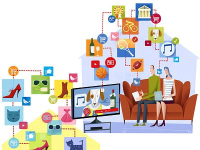 TV by Social Media youtube facebook metadata media social