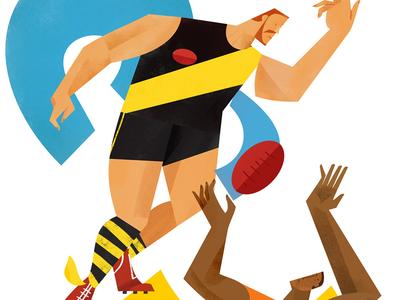 Tigers vs Giants poster veronese sport football