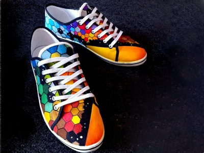 Custom Shoes – MUSE Resistance jessman5 art muse shoes custom shoes