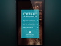 Portrait Competition Home Screen