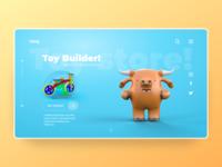 Toy Builder - landing page v2