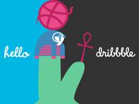 Hello dribbble ☥