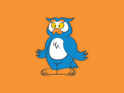 Owl mascot mascot character mascot design mascot character design cartoon character vector cartoonish branding illustration owl