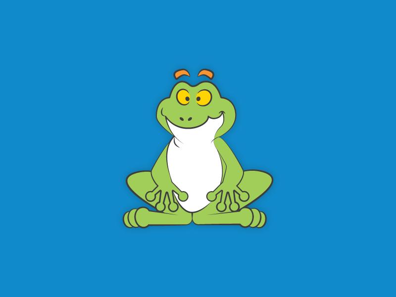 Frog mascot frog mascot vector vector illustration cartoonish cartoon character mascot design mascot frog character design character