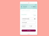 Daily UI - A credit card checkout