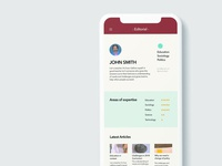 Daily UI 5: A User profile
