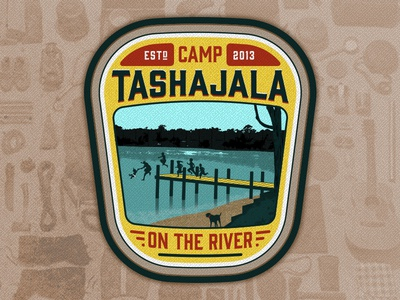 Camp TASHAJALA Patch