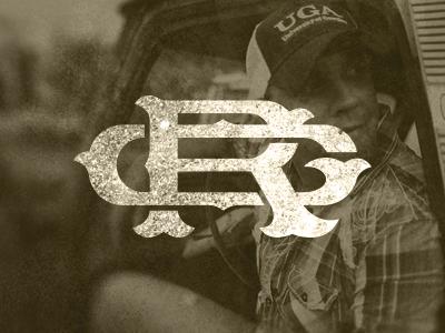 Ricky Gunn Monogram v1 ricky gunn mongram country music logo brand rough singer nashville