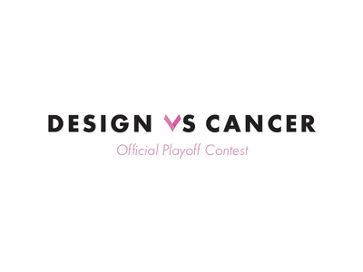 Design vs Cancer Dribbble Playoff!