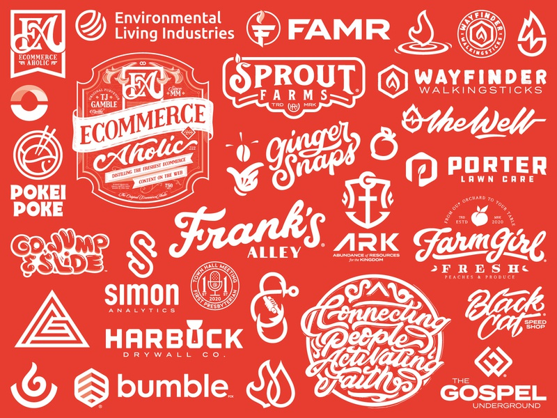 2020 Work apparel brand design serve typography logos branding brand branding and identity branding design