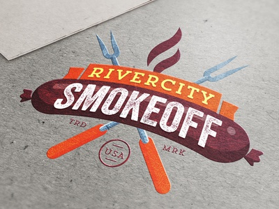 Let's Battle! #getsmoked rivercity smokeoff getsmoked battle bbq smoke sausage ribs butts chicken pork