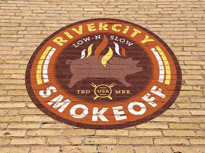 RiverCity Smokeoff - Badge