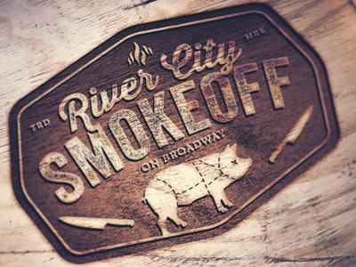 River City Smokeoff Logo v3 rivercity smokeoff getsmoked battle bbq smoke sausage ribs butts chicken pork