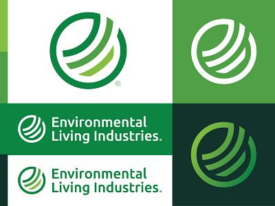 ELI® Logo environmental greens logo monogram branding