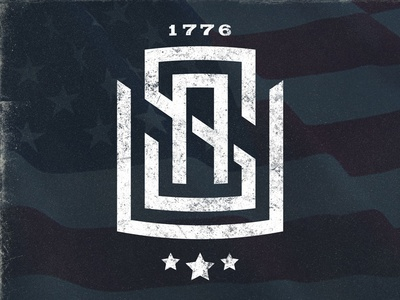 Happy 4th Y'all! usa monogram 4th july merica american 4th of july july 4th flag