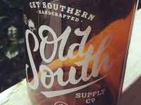 Old South Supply Co. Widemouth Jars