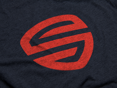 Serve.  logo badge shield red-orange navy s serve studios serve military