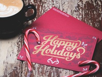 Realtree Happy Holidays Card